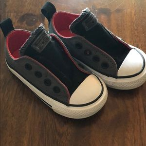 Infant Converse All-Stars (laceless) - Size 5